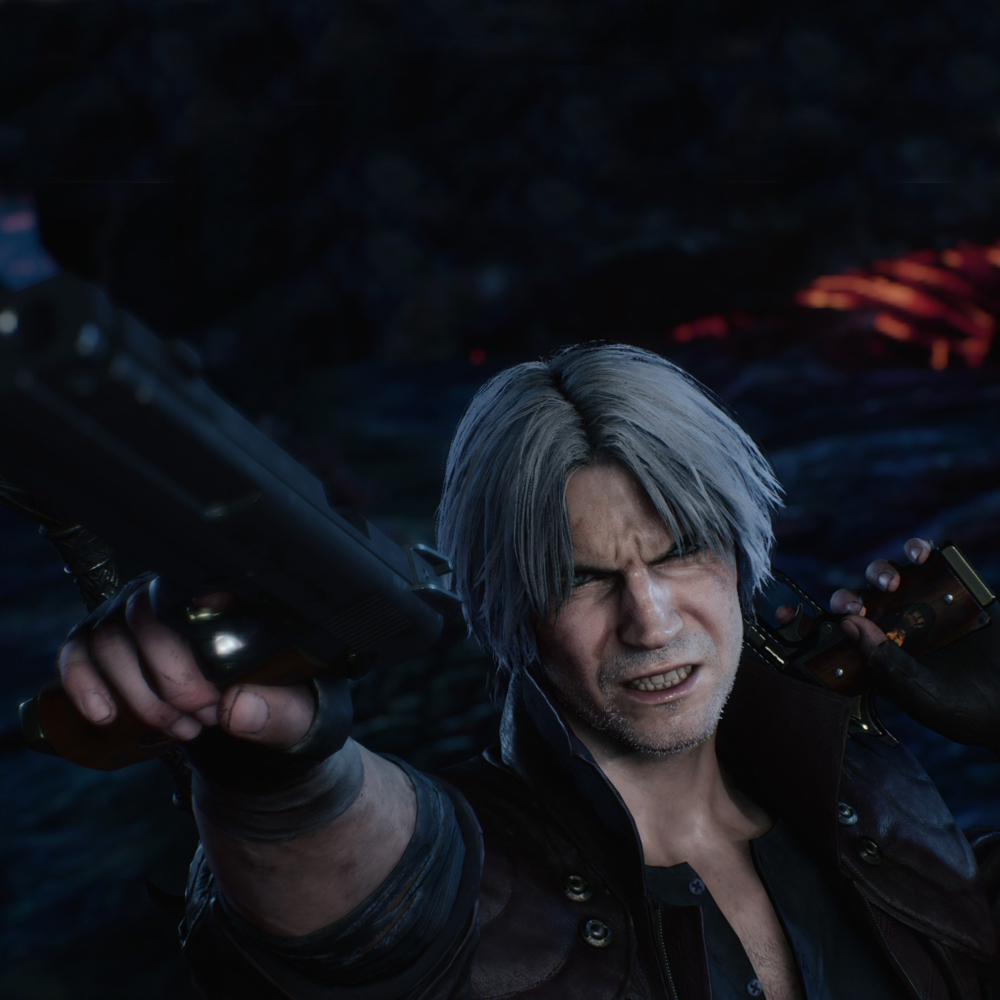 Dante Costume - Devil May Cry 5 Fancy Dress - Dante Guns