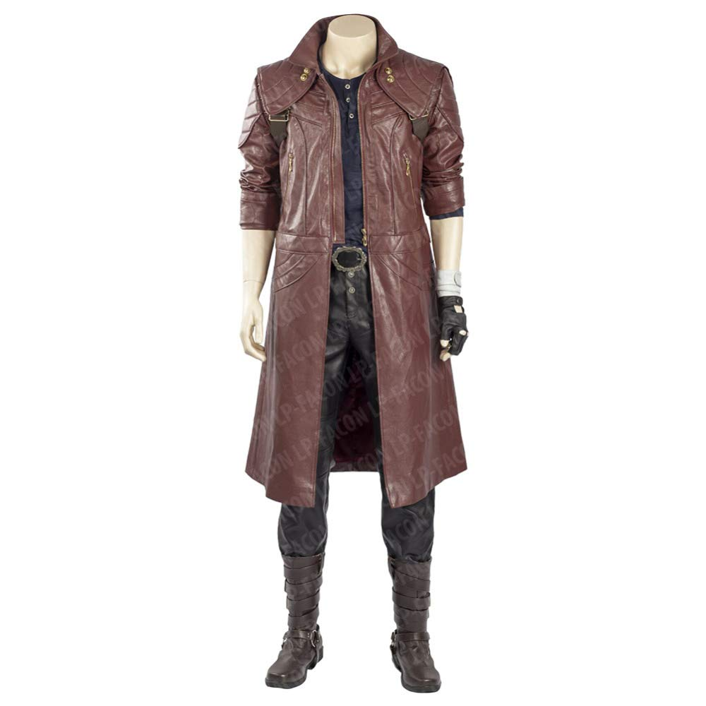 Dante Costume - Devil May Cry 5 Fancy Dress - Dante Jacket