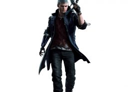 Nero Costume - Devil May Cry 5 Fancy Dress - Nero Cosplay