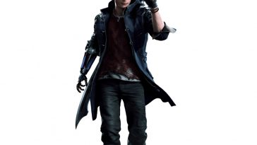 Nero Costume - Devil May Cry 5 Fancy Dress - Nero Cosplay