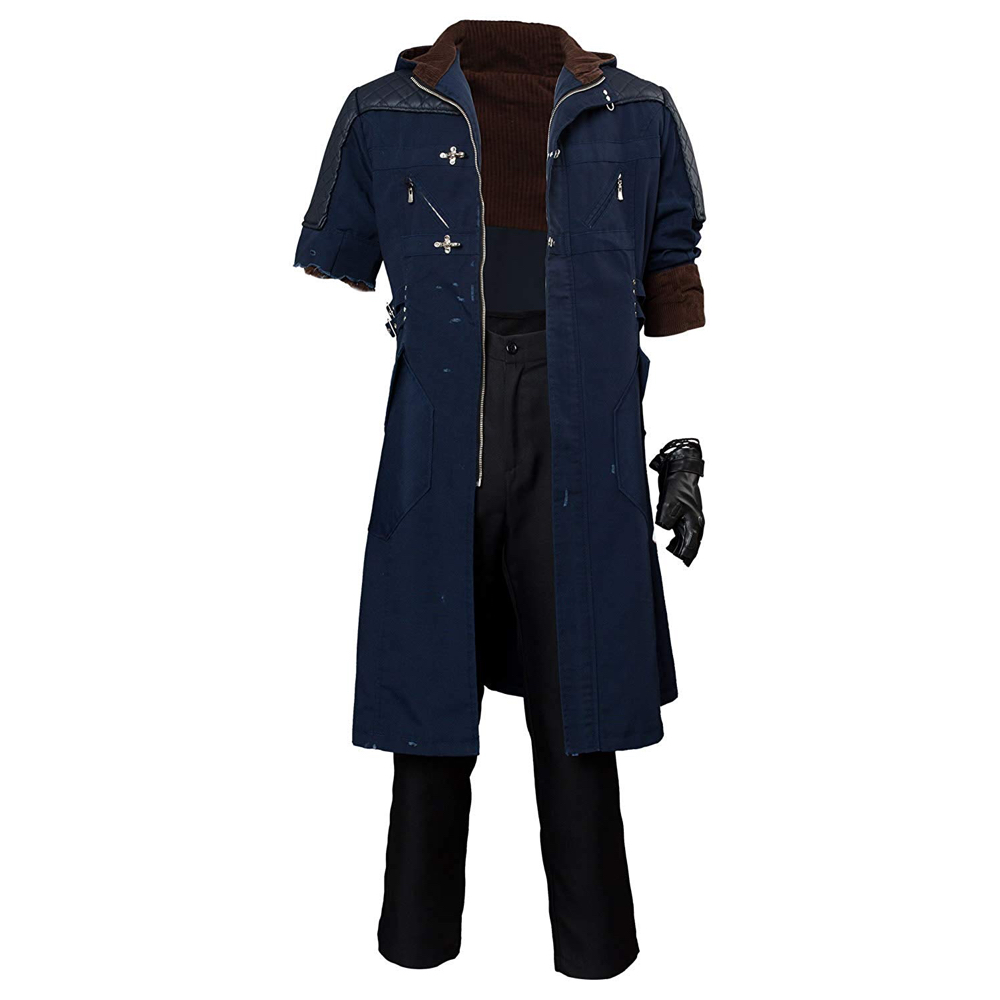 Nero Costume - Devil May Cry 5 Fancy Dress - Nero Jacket