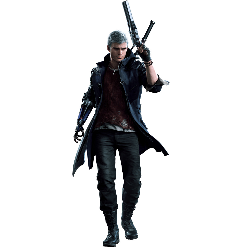 Nero Costume - Devil May Cry 5 Fancy Dress - Nero Pants