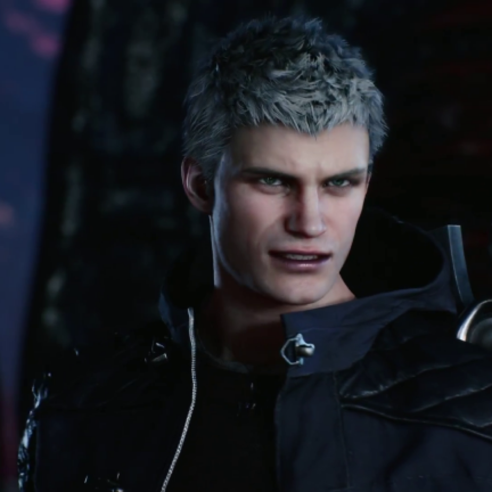Nero Costume - Devil May Cry 5 Fancy Dress - Nero Hair Nero Wig