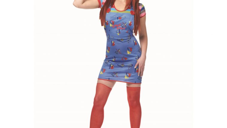 Sexy Chucky Costume - Child's Play Fancy Dress - Sexy Chucky Complete Costume