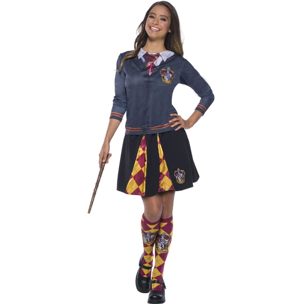 Sexy Hermoine Costume - Harry Potter Fancy Dress for Women - Sexy Heromine Wand