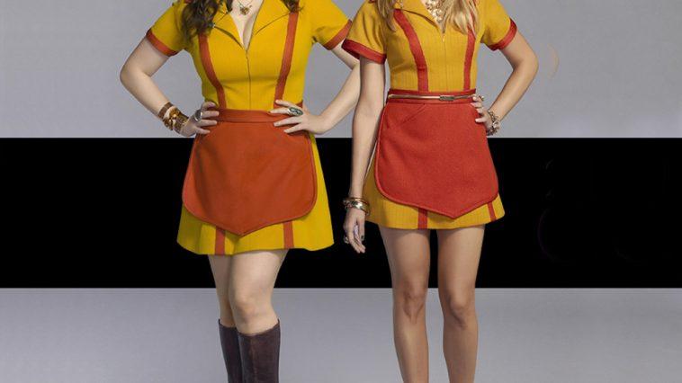 2 Broke Girls Costume - 2 Broke Girls Fancy Dress - 2 Broke Girls Cosplay - Max High Heels - Beth Behrs Legs - Beth Behrs High Heels