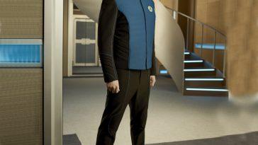 Captain Ed Mercer Costume - The Orville Fancy Dress - Captain Ed Mercer Cosplay