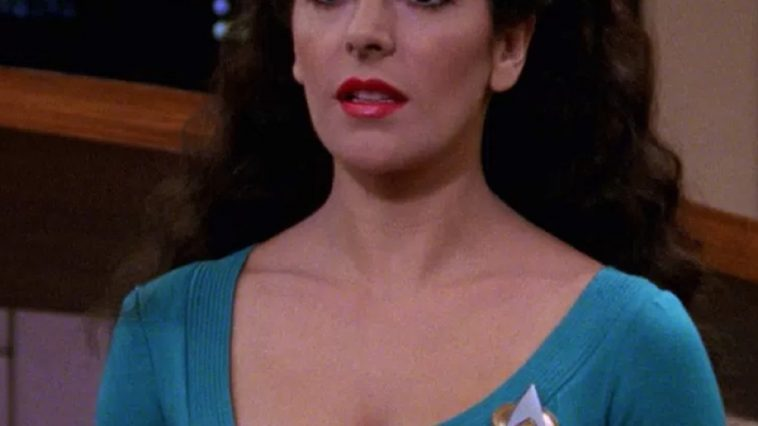 Deanna Troi Costume - Star Trek: The Next Generation Fancy Dress - Deanna Troi Cosplay