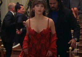 Elektra King Costume - James Bond Fancy Dress - The World is Not Enough - Bond Girl - Elektra King Cosplay