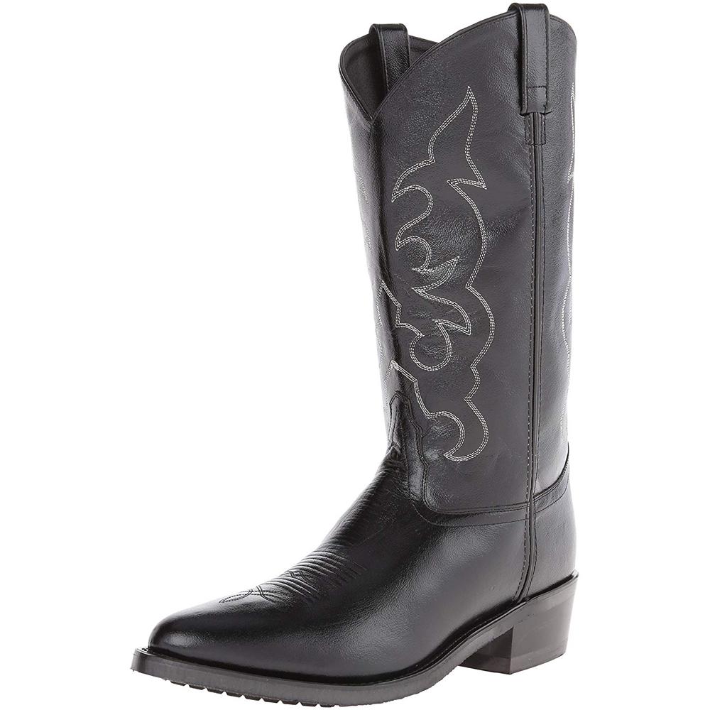Man in Black Costume - Westworld Fancy Dress - Man in Black Boots