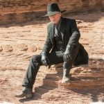 Man in Black Costume - Westworld Fancy Dress - Man in Black Cosplay