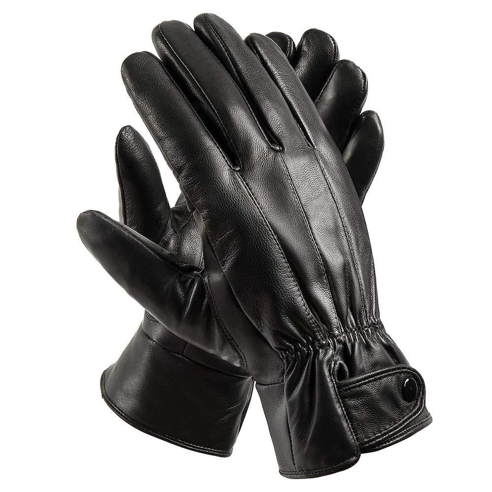 Man in Black Costume - Westworld Fancy Dress - Man in Black Gloves