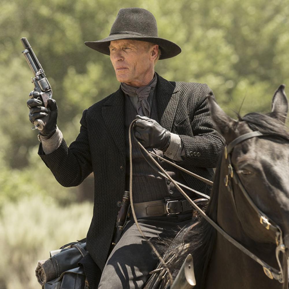 Man in Black Costume - Westworld Fancy Dress - Man in Black Gun