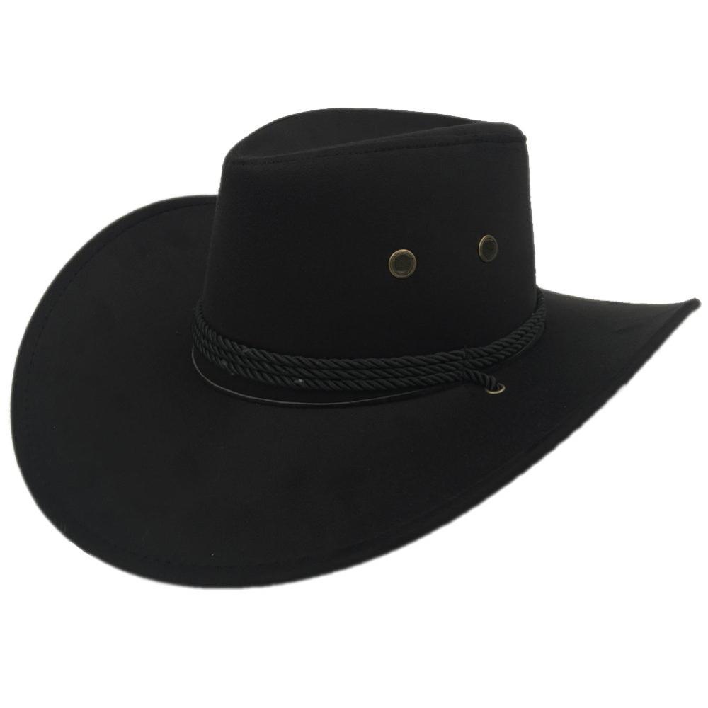 Man in Black Costume - Westworld Fancy Dress - Man in Black Hat