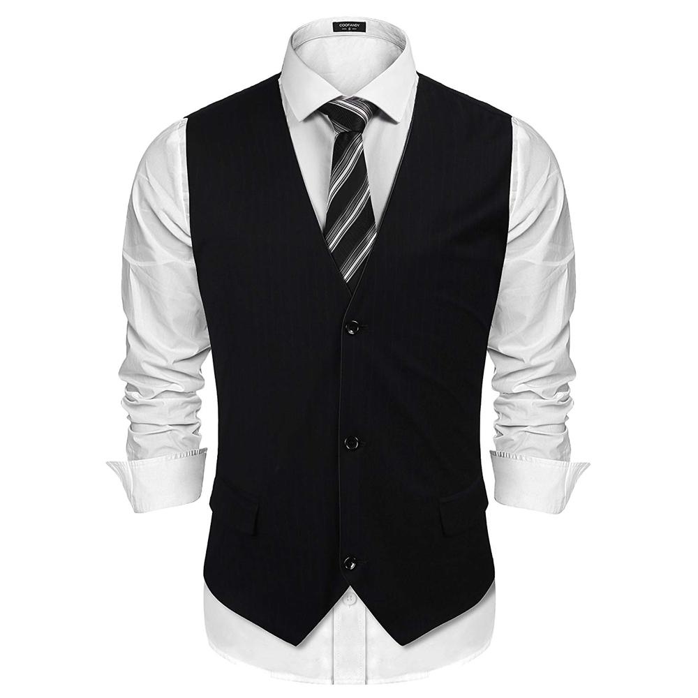 Man in Black Costume - Westworld Fancy Dress - Man in Black Waistcoat