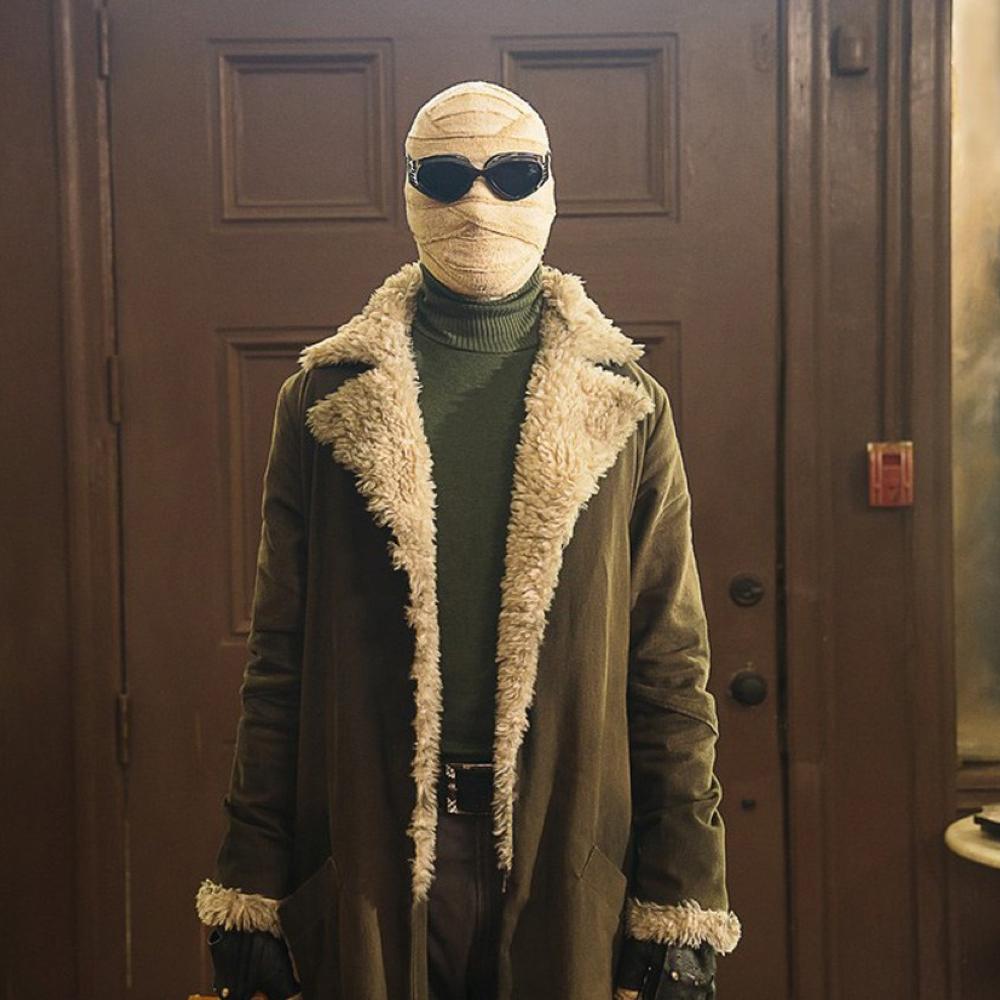 Negative Man Costume - Doom Patrol Fancy Dress - Negative Man Jacket