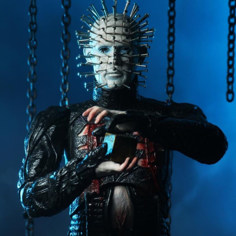 Pinhead Costume - Hellraiser Fancy Dress - Pinhead Chains