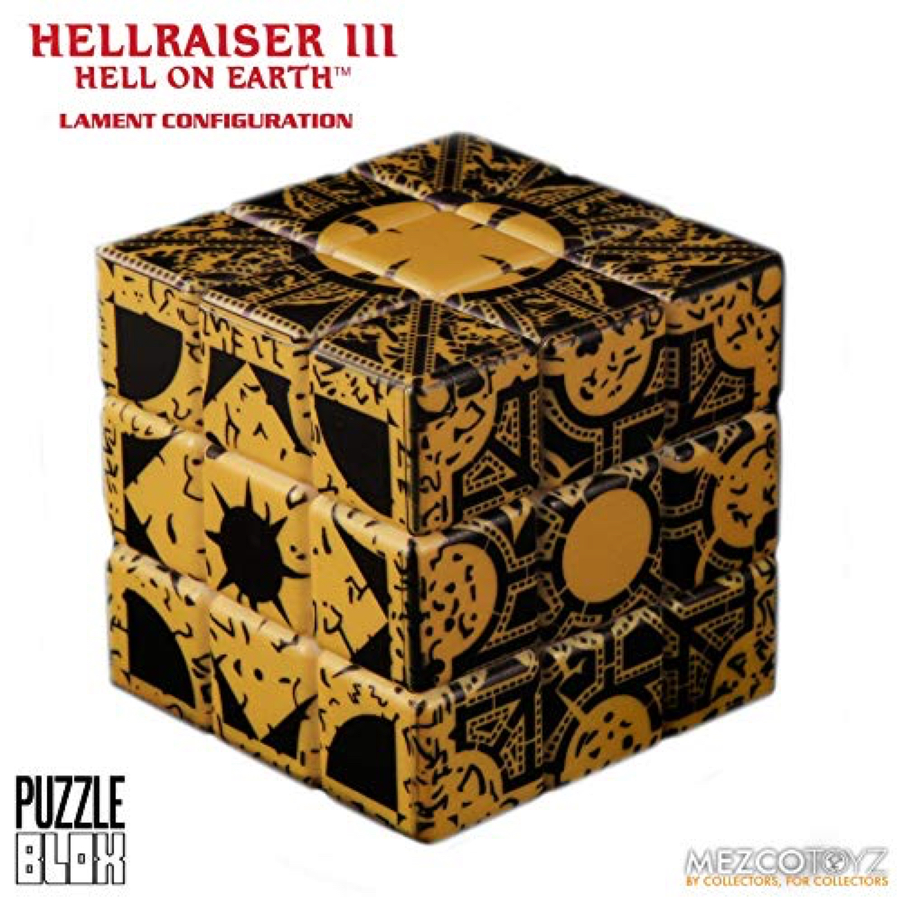 Pinhead Costume - Hellraiser Fancy Dress - Pinhead Puzzle Cube