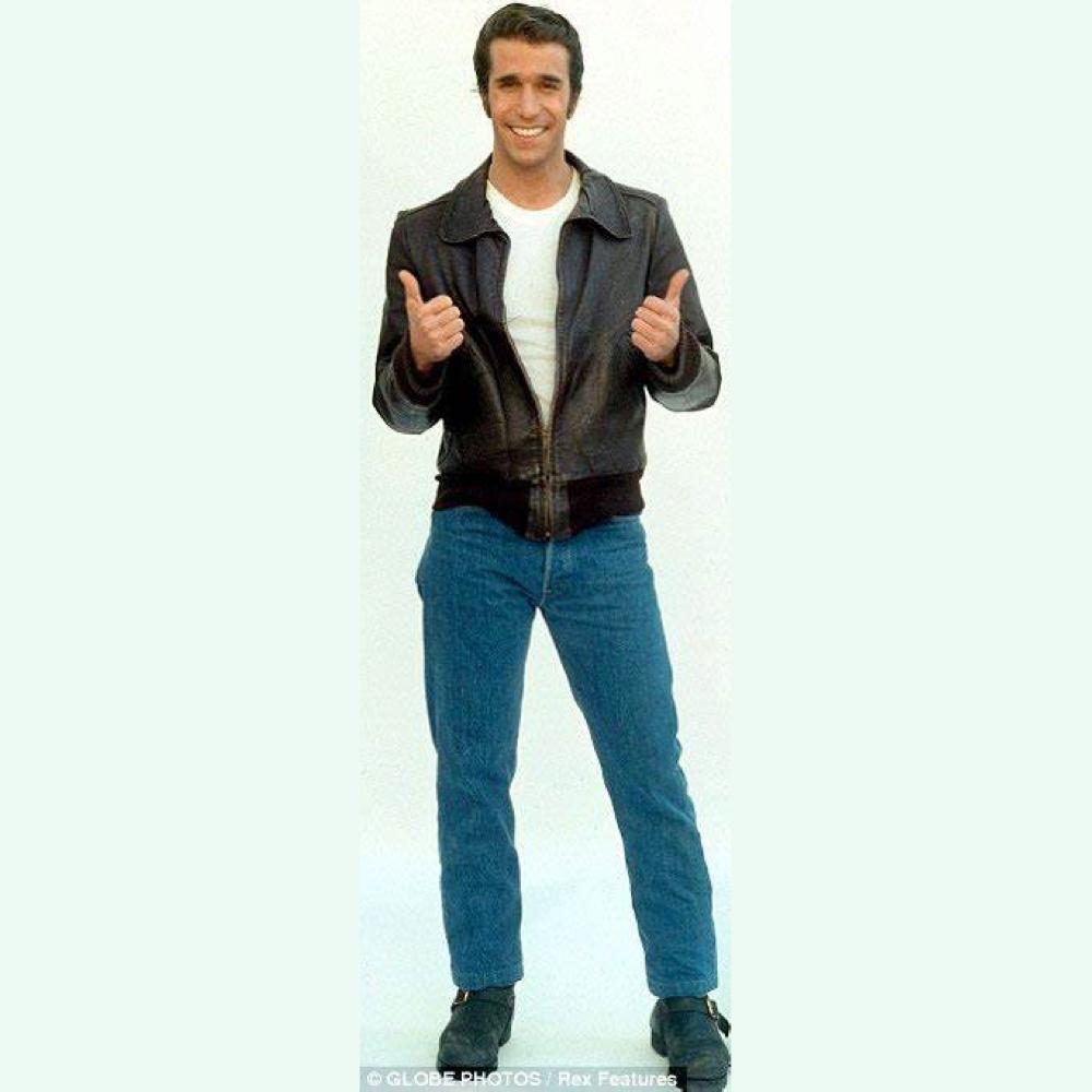 The Fonz Costume - Happy Days Fancy Dress - The Fonz Jeans
