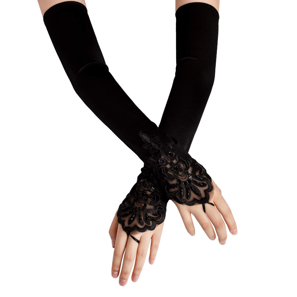The Handler Costume - The Umbrella Academy - The Handler Gloves
