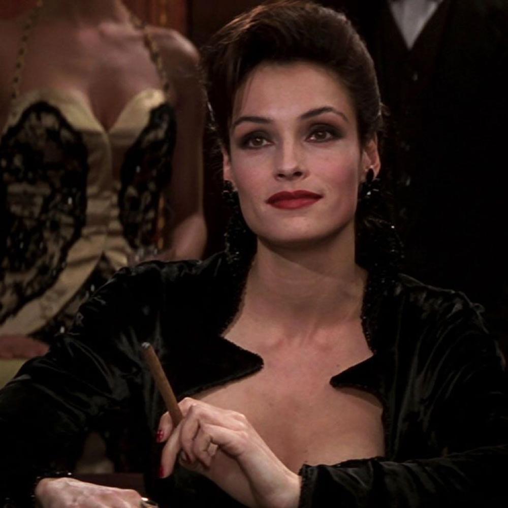 Xenia Onatopp Costume - James Bond - Goldeneye Fancy Dress - Xenia Onatopp Cigar