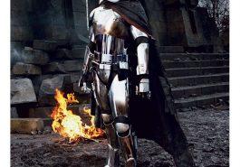 Captain Phasma Costume - Star Wars Fancy Dress - Captain Phasma Cosplay