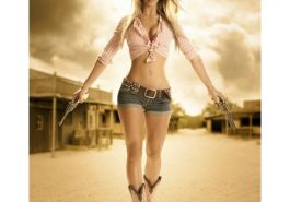 Cowgirl Costume - Cowgirl Fancy Dress - Cowgirl Cosplay