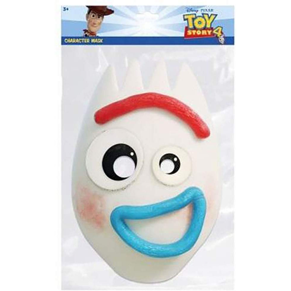 Froky Costume - Toy Story 4 Fancy Dress - Forky Fabric Mask