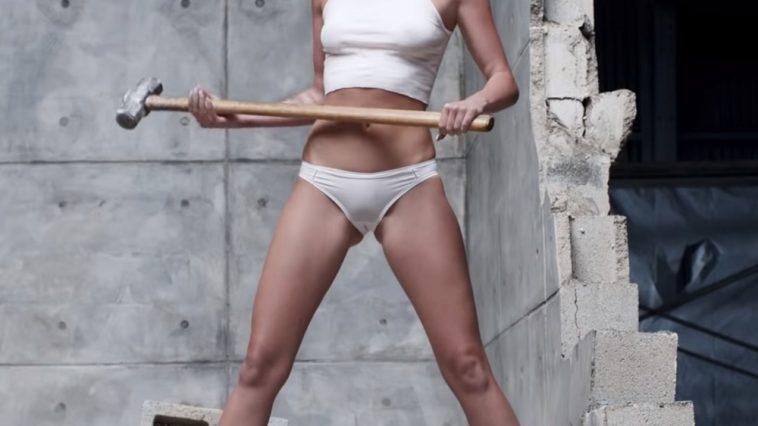 Miley Cyrus Fancy Dress - Miley Cyrus Wrecking Ball Costume - Miley Cyrus Wrecking Ball Cosplay