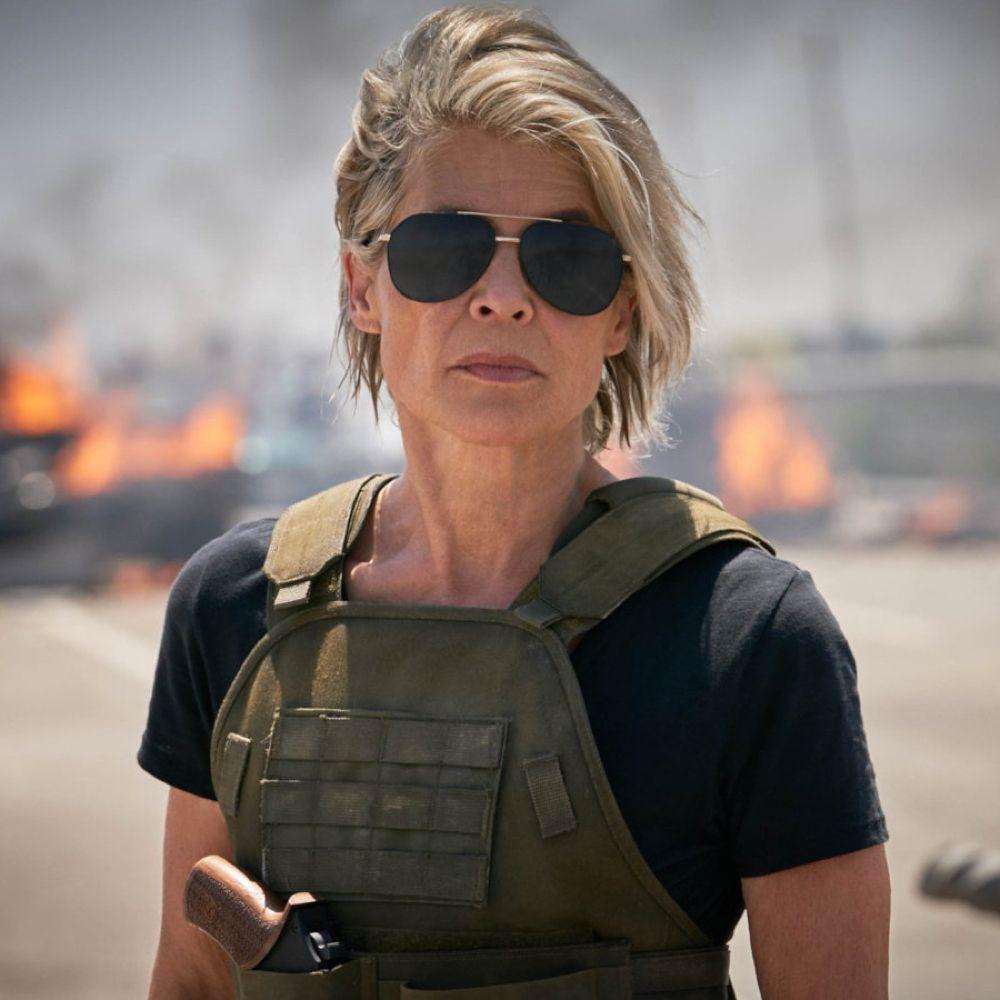 Sarah Connor Costume - Terminator: Dark Fate Fancy Dress - Sarah Connor Sunglasses