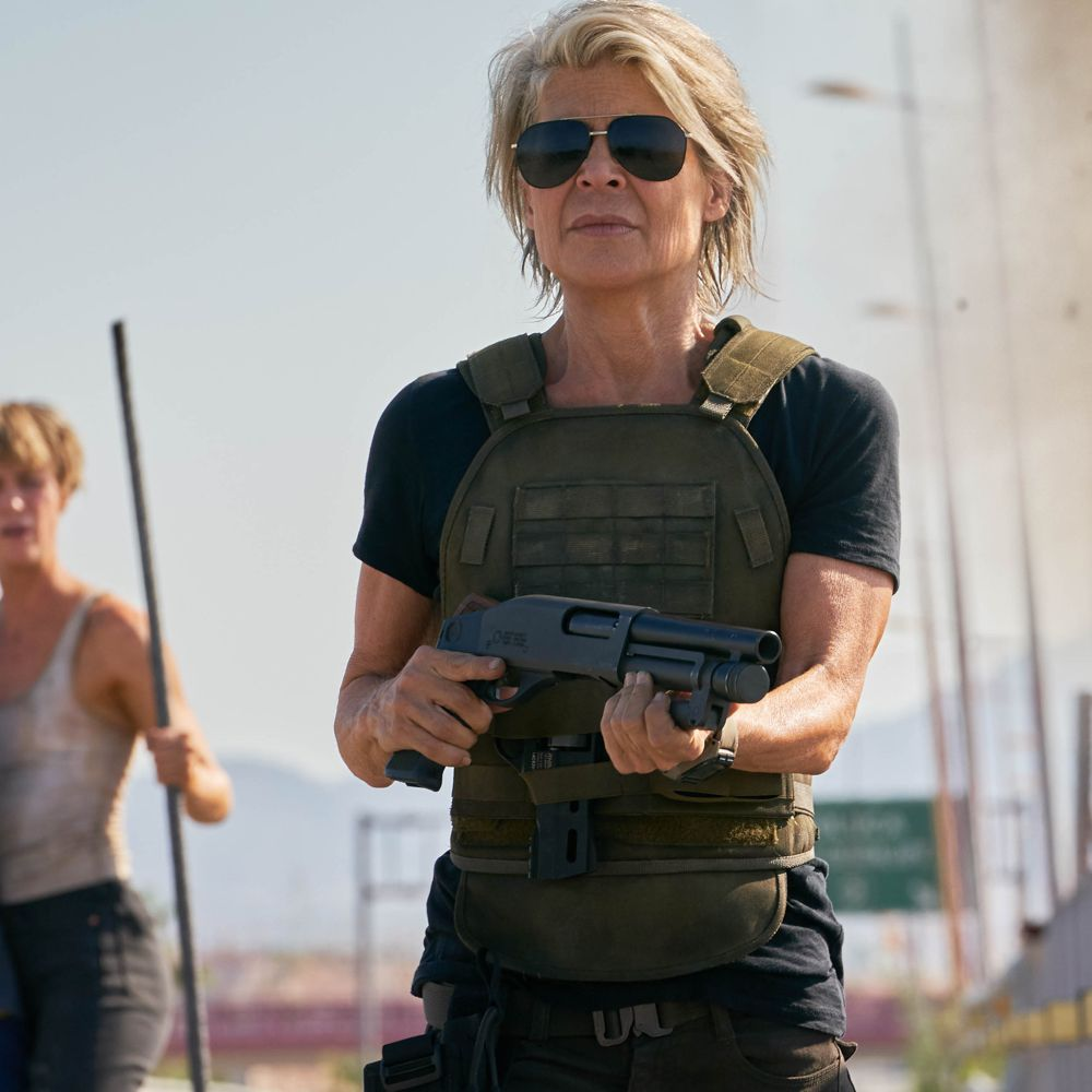 Sarah Connor Costume - Terminator: Dark Fate Fancy Dress - Sarah Connor T-Shirt