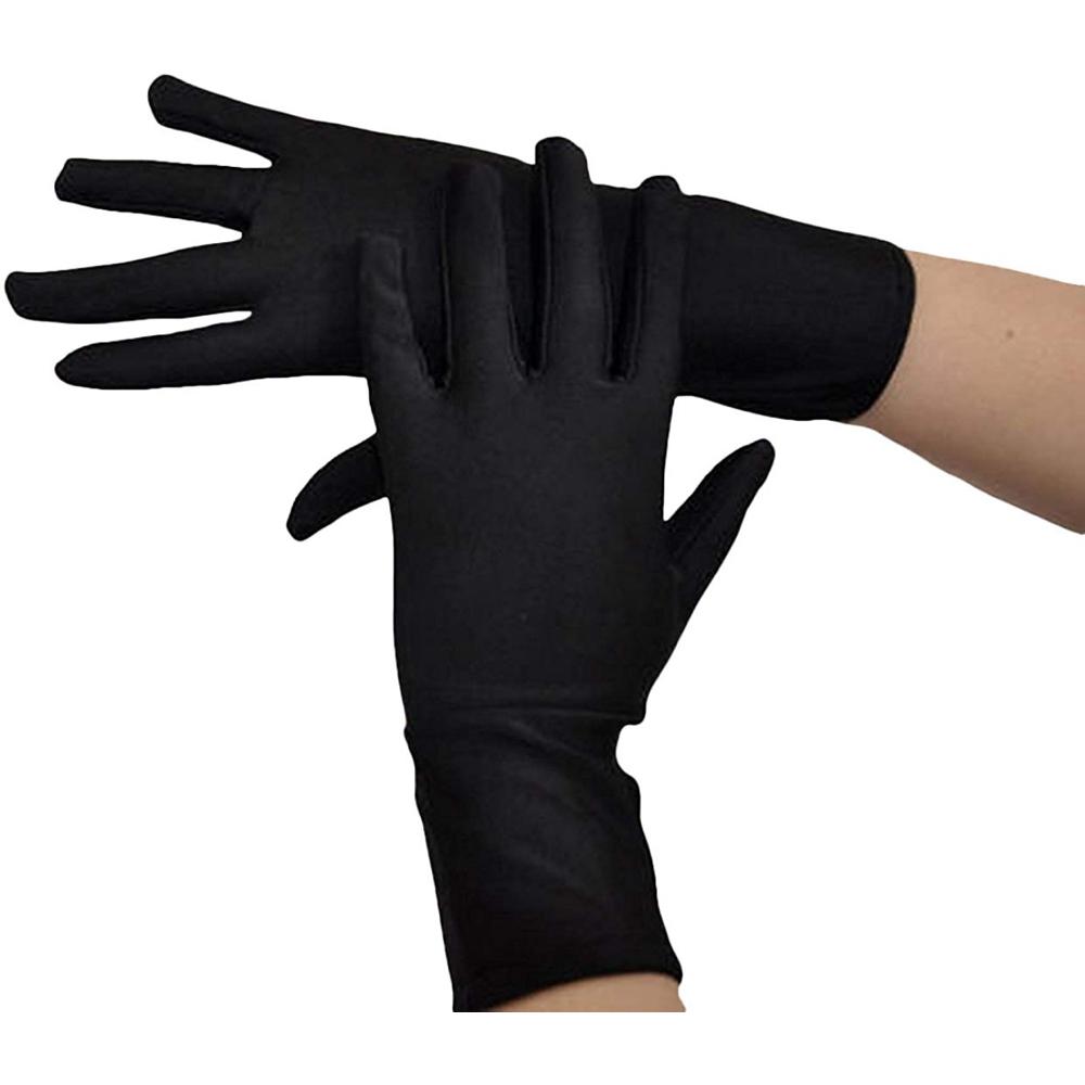 Trinity Costume - The Matrix Fancy Dress - Trinity Gloves