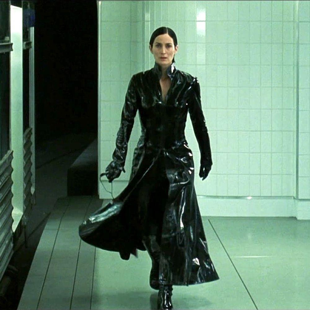 Trinity Costume - The Matrix Fancy Dress - Trinity Pants