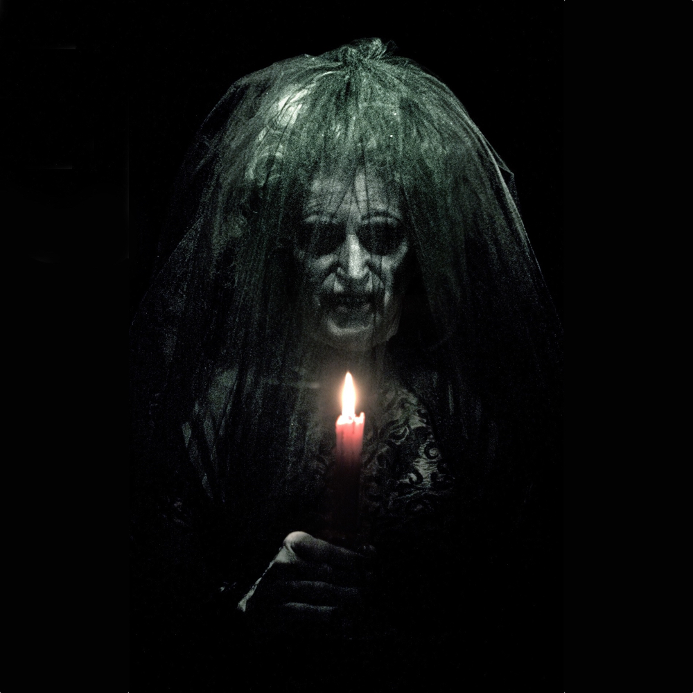 Bride in Black Costume - Insidious Fancy Dress - Bride in Black Candle
