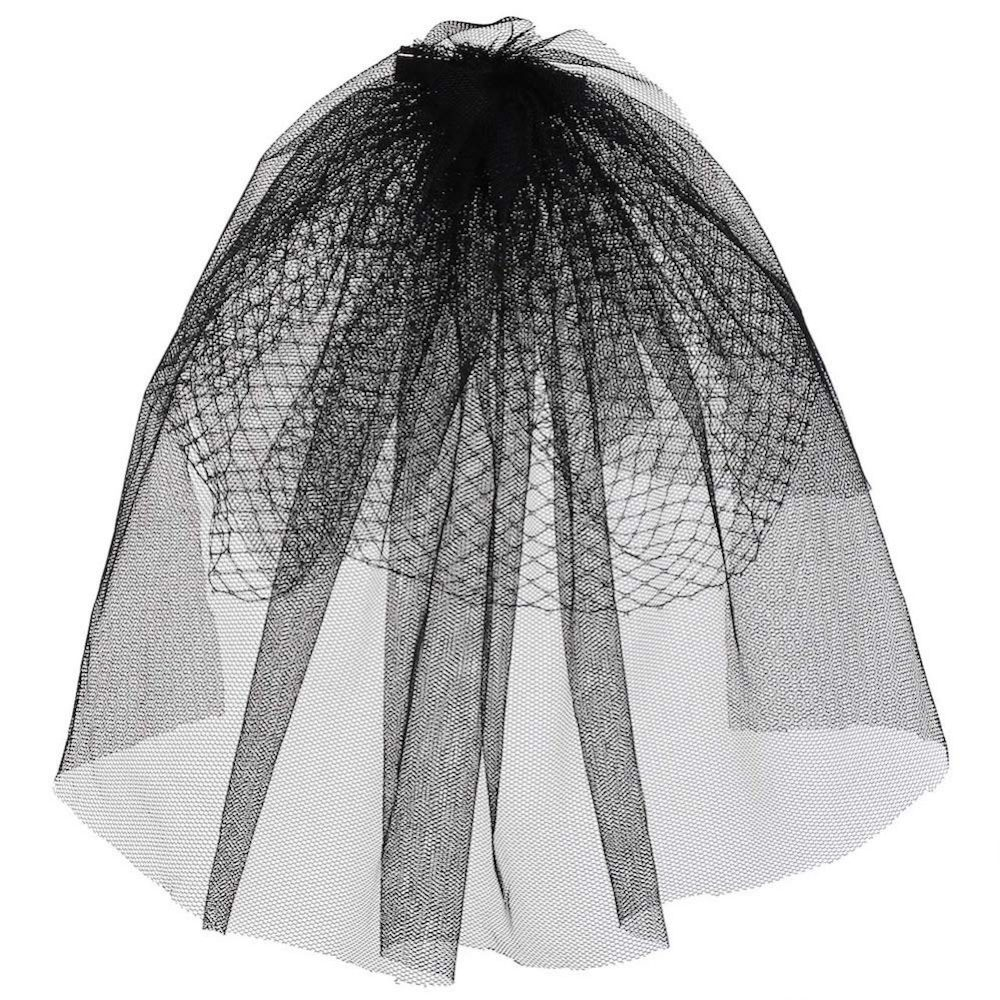 Bride in Black Costume - Insidious Fancy Dress - Bride in Black Veil