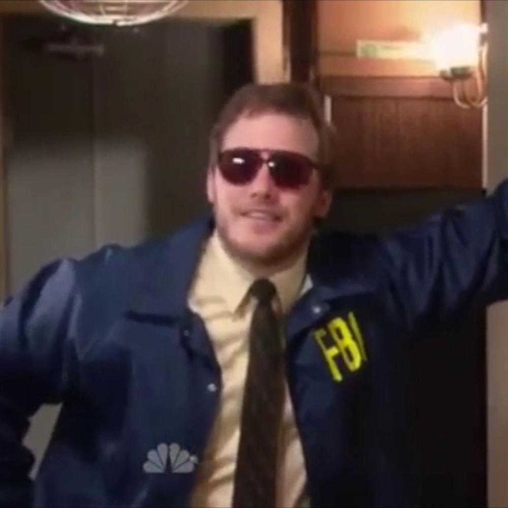 Burt Macklin costume - Burt Macklin neck tie