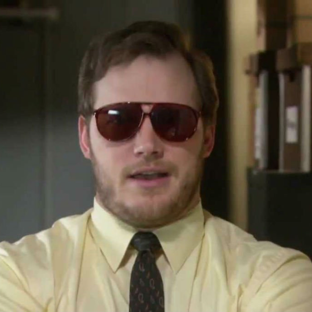 Burt Macklin costume - Burt Macklin sunglasses