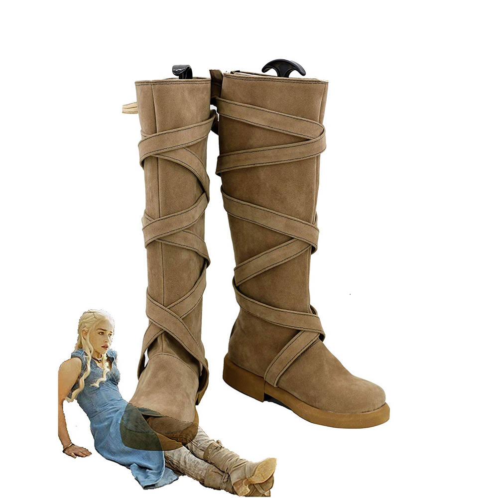 Daenerys Targaryen Costume - Daenerys Targaryen Boots - Game of Thrones Costume