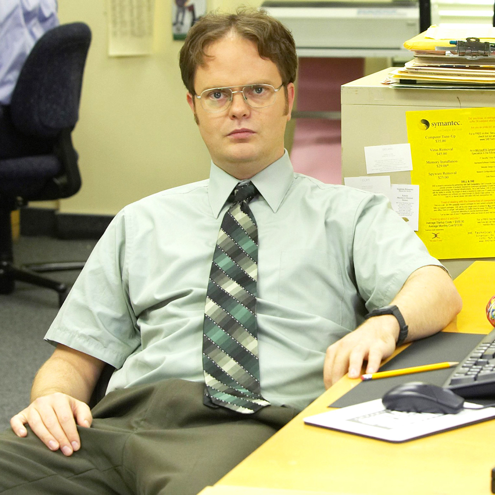 Dwight Schrute Costume - The Office - Dwight Schrute Calculator Watch
