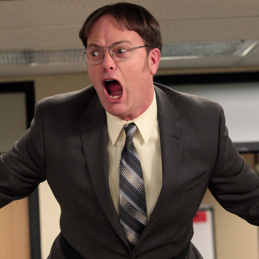 Dwight Schrute Costume - The Office - Dwight Schrute Tie