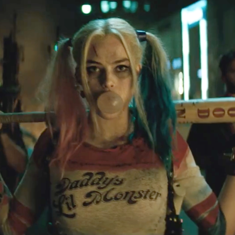 Margot Robbie Harley Quinn Costume - Harley Quinn wig hair - Suicide Squad Costume