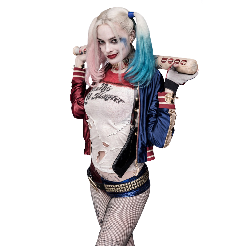 Margot Robbie Harley Quinn Costume - Harley Quinn t-shirt - Suicide Squad Costume