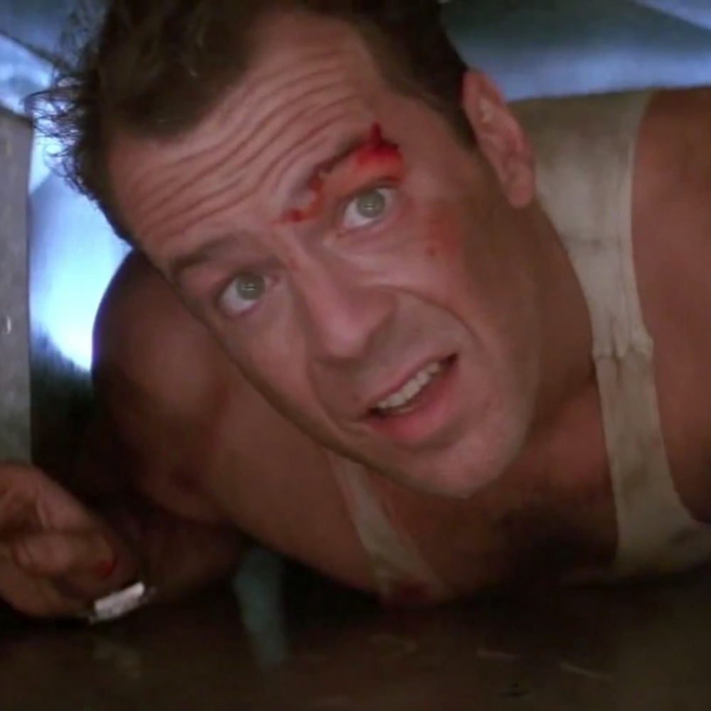 John McClane Costume - John McClane Blood