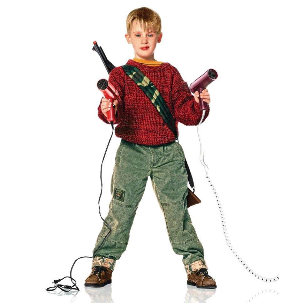 Kevin McCallister Costume - Kevin McCallister hairdryer - home alone cosplay
