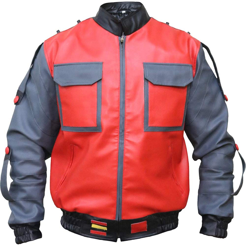 Marty McFly Costume - Marty McFly Self Sizing Jacket