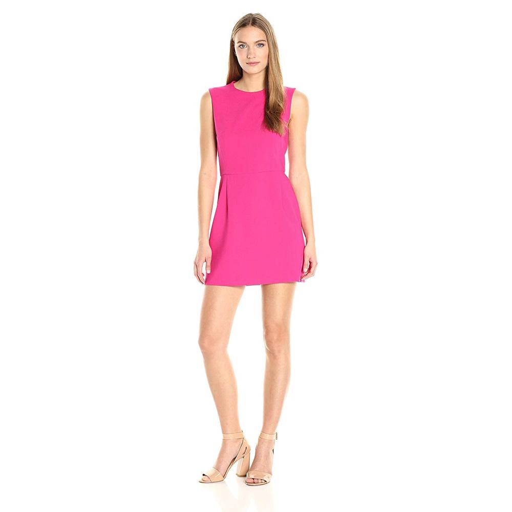 Naomi Belfort Costume - Margot Robbie - Naomi Belfort Pink Dress