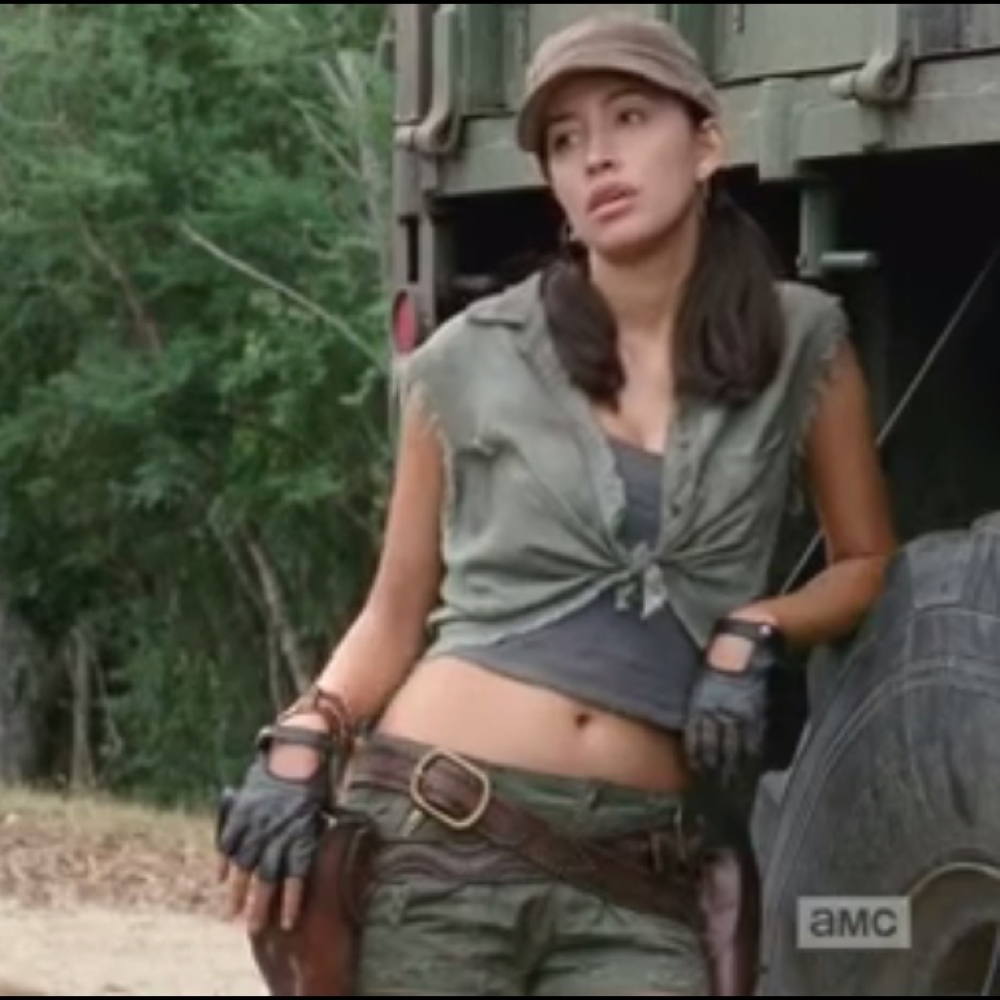 Rosita Espinosa Costume - Rosita Espinosa Holster - The Walking Dead