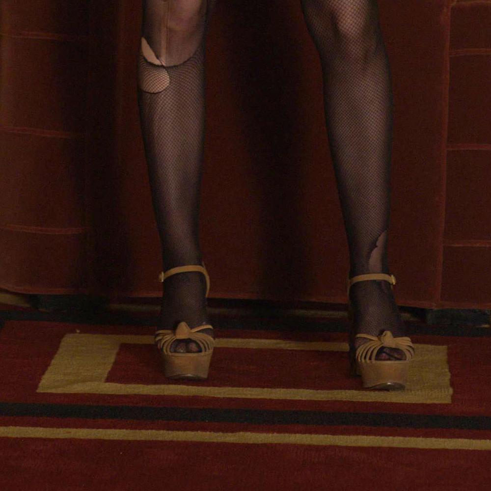 Sally McKenna costume - Sally McKenna high heels - American Horror Story costume