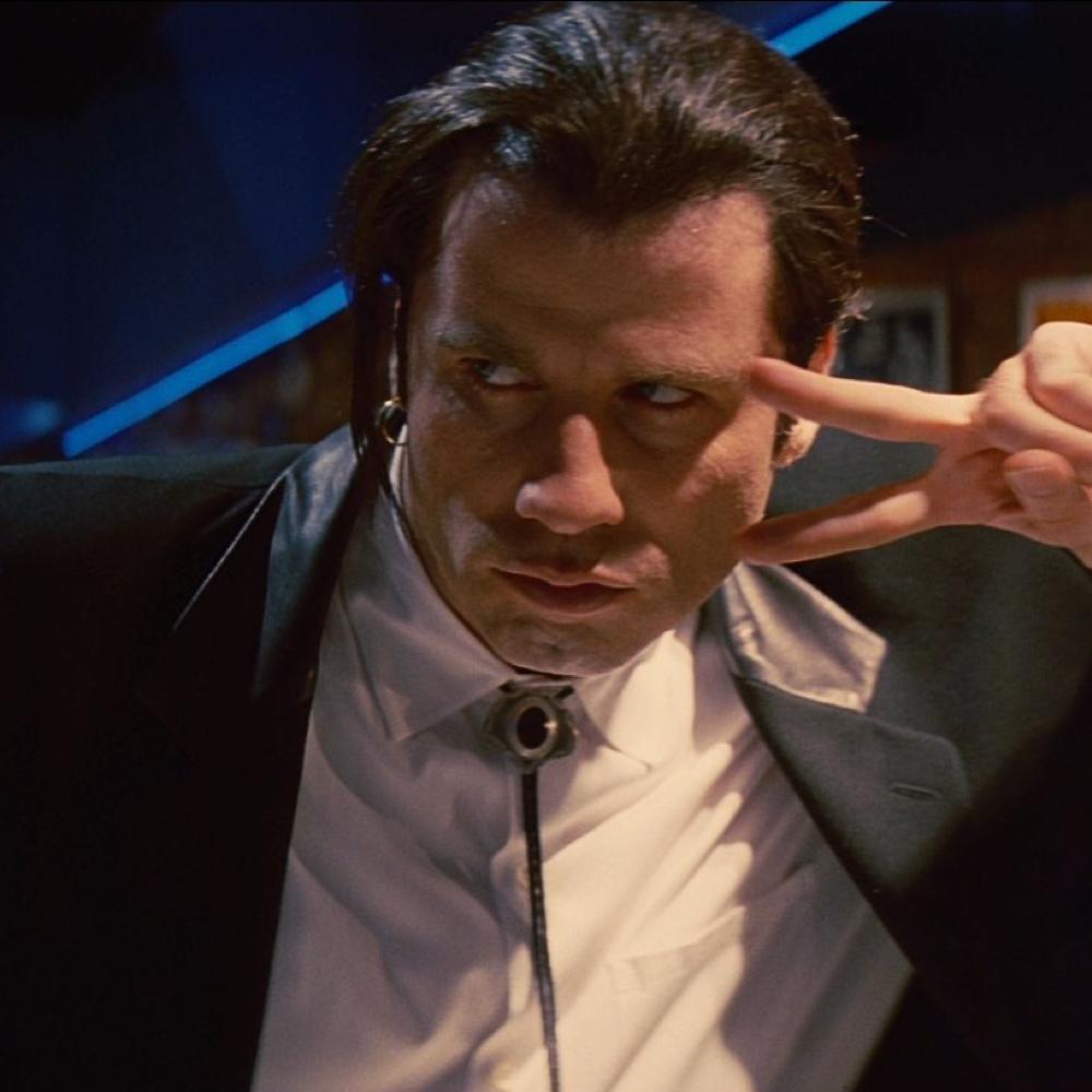 Vincent Vega Costume - Vincent Vega Bolo Tie - Pulp Fiction Costume