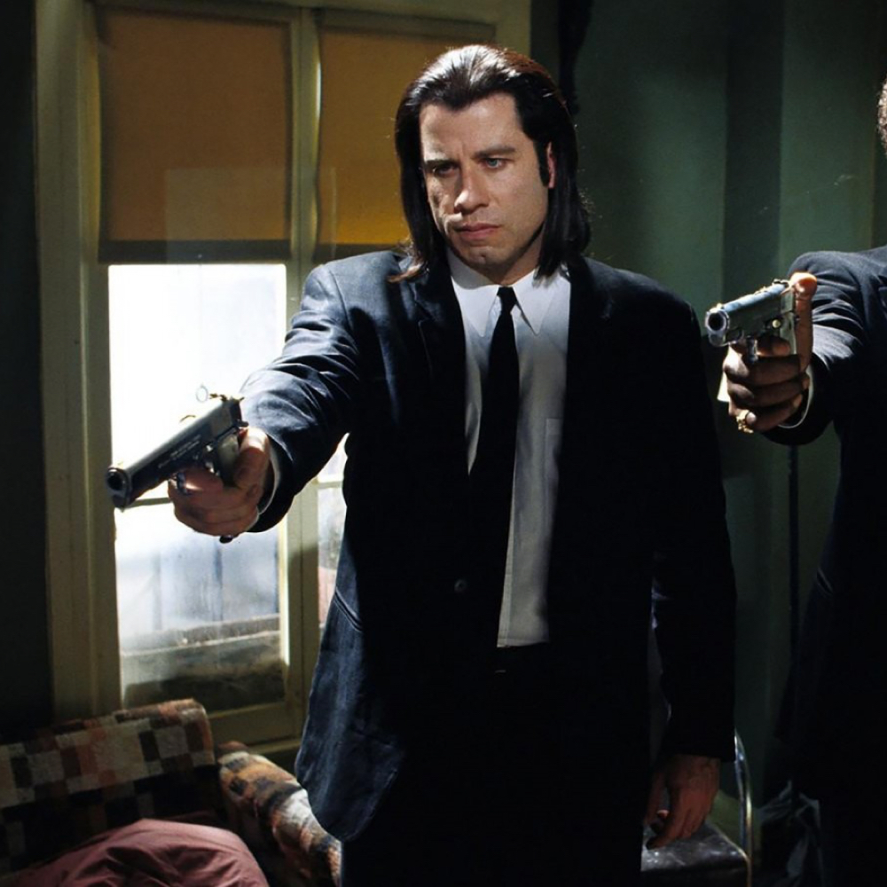 Vincent Vega Costume - Vincent Vega Gun - Pulp Fiction Costume